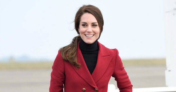Kate Middleton is using her impeccable style to wish everyone a very royal Valentine's Day: