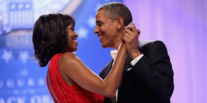 Barack and Michelle Obama adorably wish each other a happy