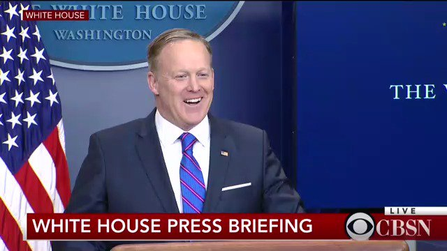 WATCH LIVE: Press Secretary Sean Spicer holds the daily White House briefing https://t.co/3Dm4mURorD https://t.co/bKboLPy11U