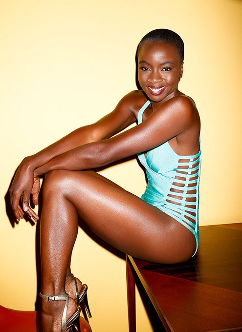 Happy birthday to the beautiful and sexy Danai Gurira