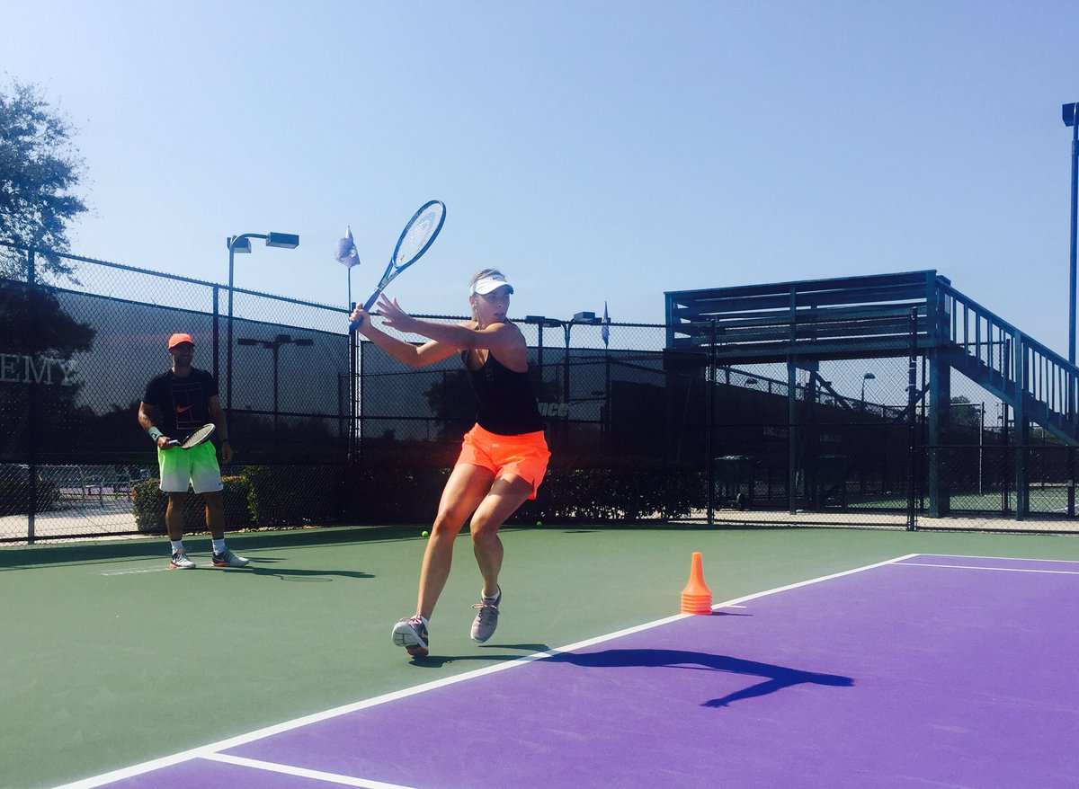 Round 2. Alex and I putting in the time on court. https://t.co/1Z7HuK8ZsR