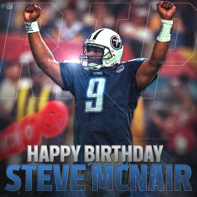 Happy Birthday To Steve Mcnair it\s a shame it had to happen to you