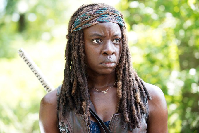 Happy 39th Birthday Danai Gurira. [Michonne]