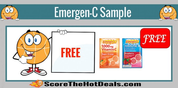 *FREE* Emergen-C & Emergen-C Immune+ Sample!free freebies freebie