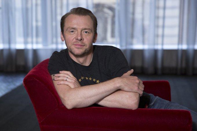 Happy Birthday to the wonderful and gorgeous Simon Pegg!