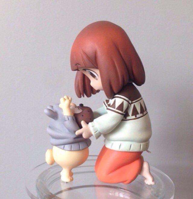 WF冬販売商品その3。幼少マコ&ガッツこちらも『すしだらけ』展示作品になります。再販商品です。宜しくお願いします!#wf