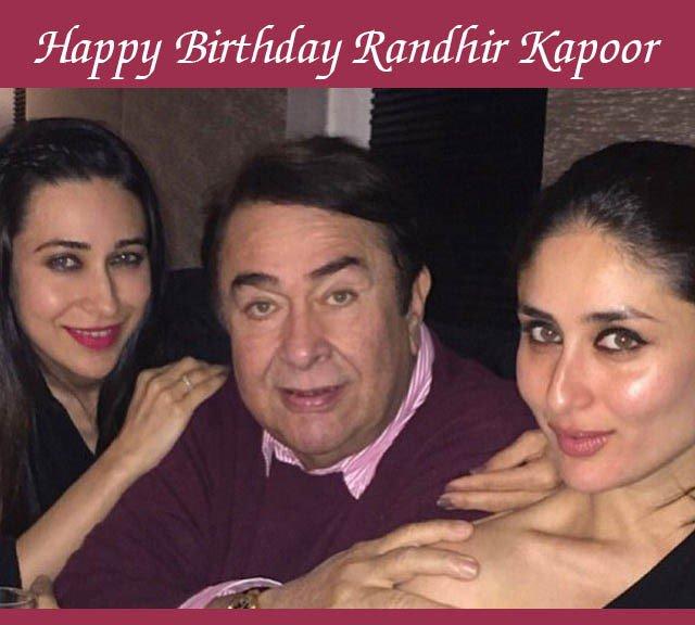 We wish Randhir Kapoor a very happy birthday!