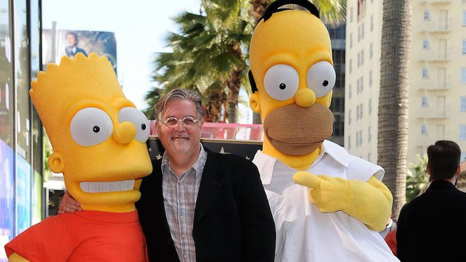 Happy Birthday to Matt Groening, who turns 63 today!