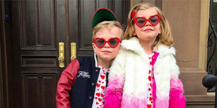 Neil Patrick Harris' twins look adorably fab in matching ValentinesDay attire