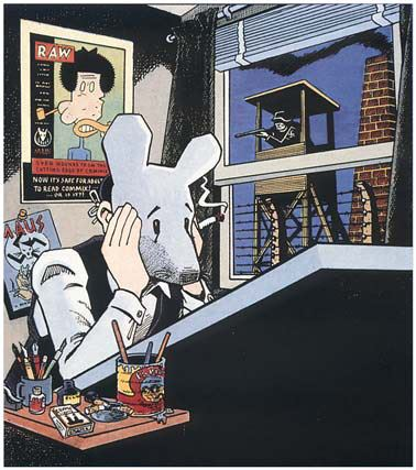 Happy 69th birthday to Maus creator, Art Spiegelman.