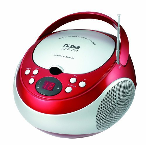 #free #music #mp3 #style #win #giveaway #usb NAXA Electronics NPB-251RD Portable CD Player with AM/FM Stereo Radio #rt