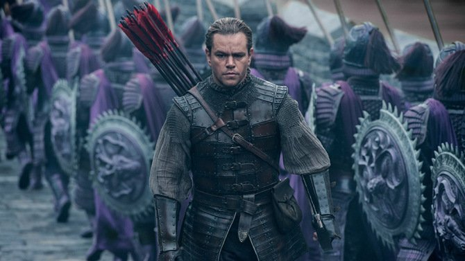 FILM REVIEW: Matt Damon in the period fantasy-action