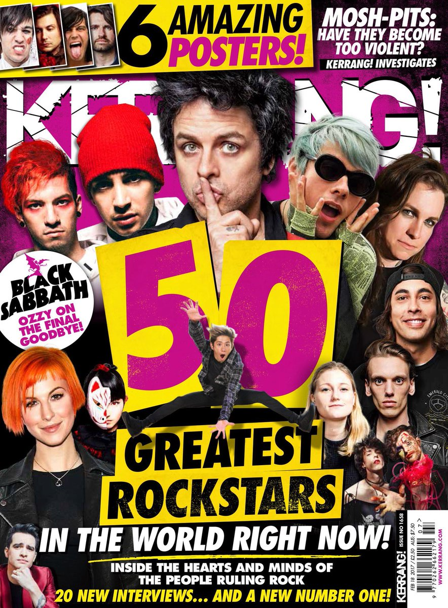 HAPPY KERRANG! DAY! The new issue is out now! Go grab it. https;//t.co/qOwPLORWR3 https;//t.co/SG...