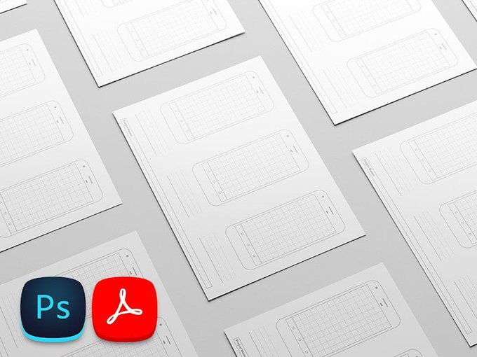 Printable Google Pixel Template   Template by BehnamSobhkhiz freebie