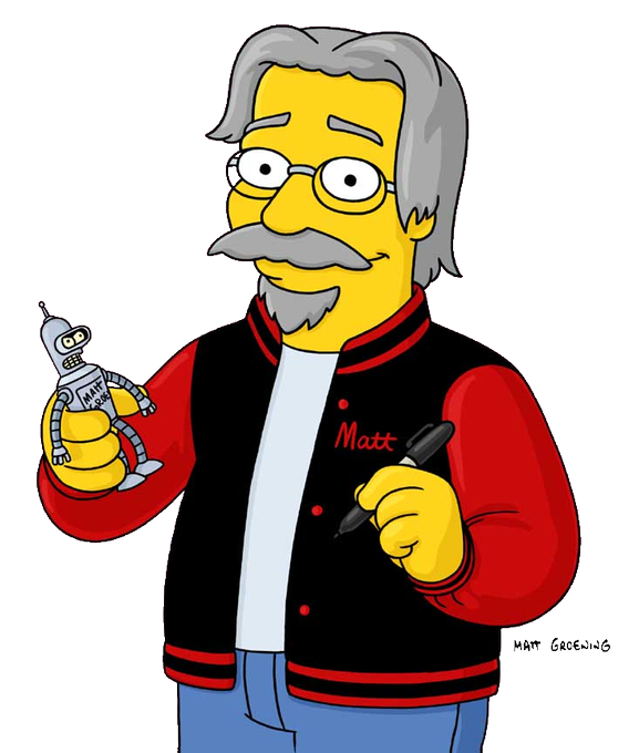 Happy Birthday to Matt Groening.