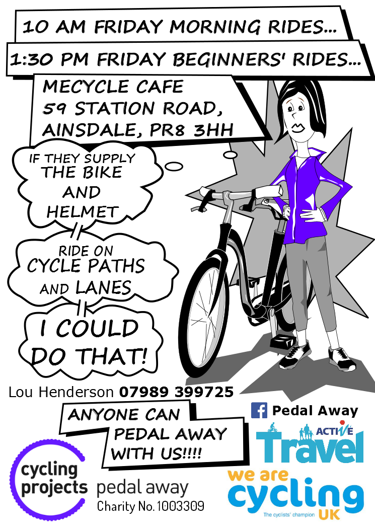 test Twitter Media - RT @PedalAwayCP: Look 1.30pm beginner rides this Friday @mecycle1 @activesefton @mashton73 https://t.co/H5rXGNEDXi