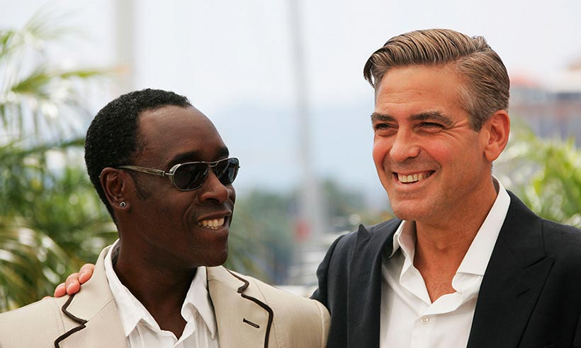 .@DonCheadle has given an hilarious prediction on George Clooney's parenting skills: