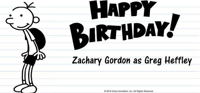 Happy Birthday to Zachary Gordon!