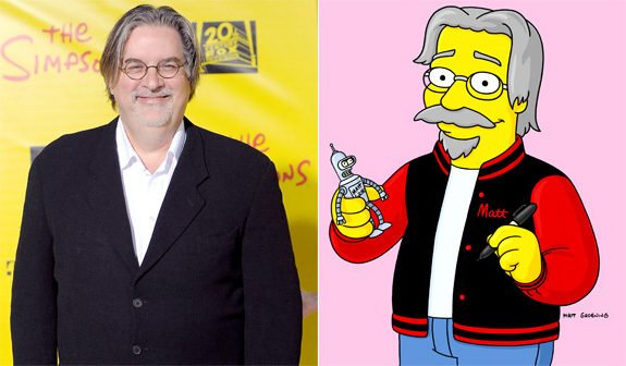 Happy Birthday to the creator of , Matt Groening.