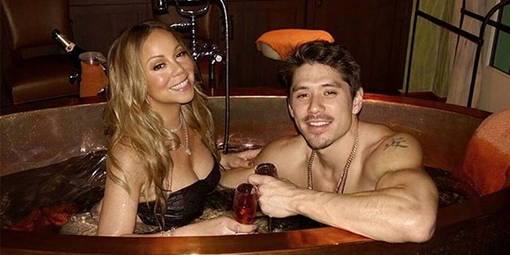 Mariah Carey and Bryan Tanaka cozy up in hot tub on ValentinesDay: 'All you need is love'