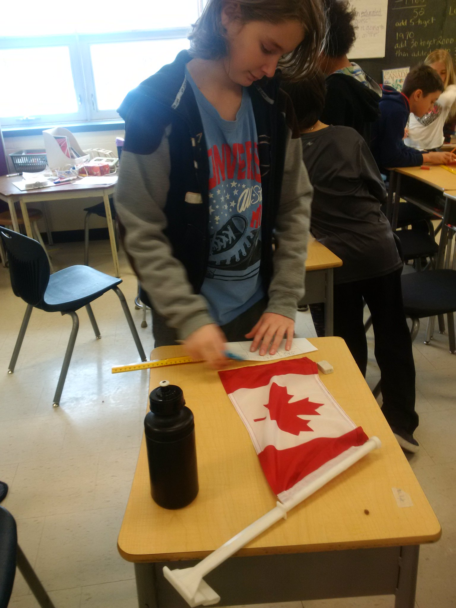 Happy Birthday to the flag of Canada! Canadian Flag inquiry..what things do all CFS have in common?