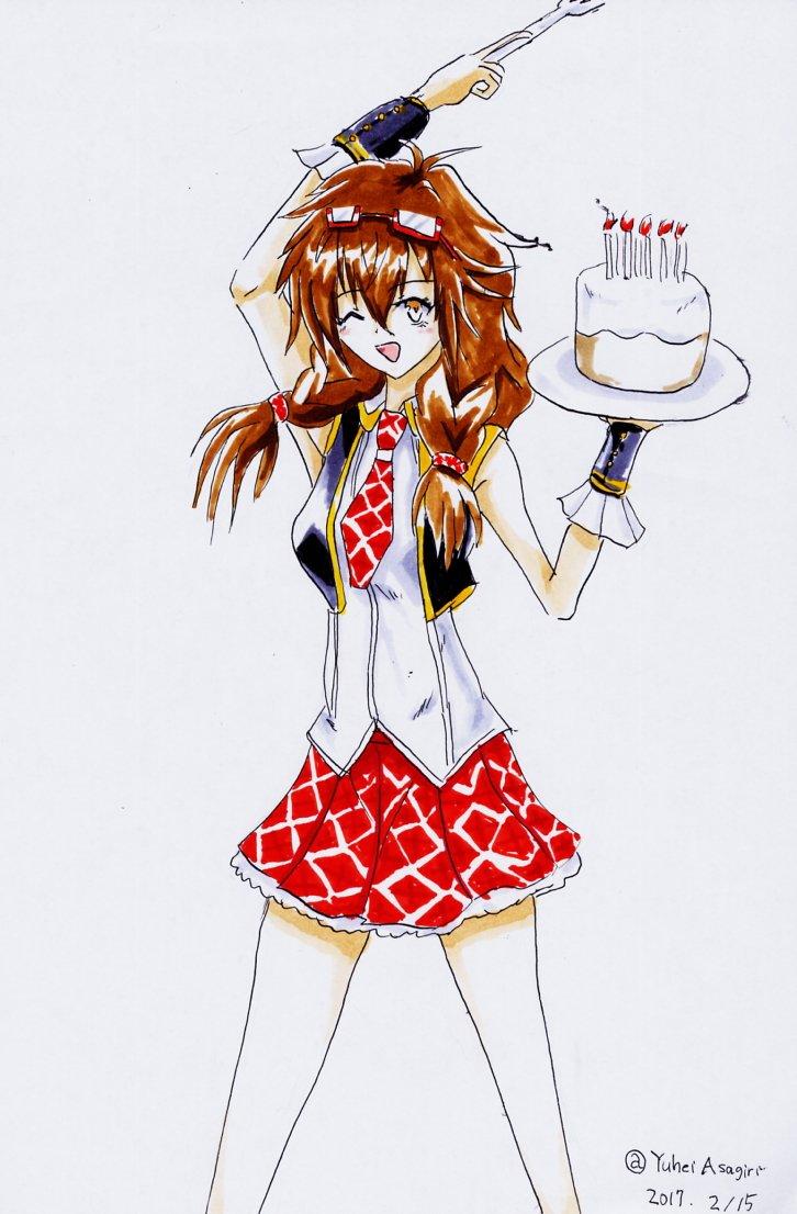 『Live & cake』しえなだってアイドルしたい!誕生日おめでとッス! #悪魔のリドル版深夜の真剣お絵描き6