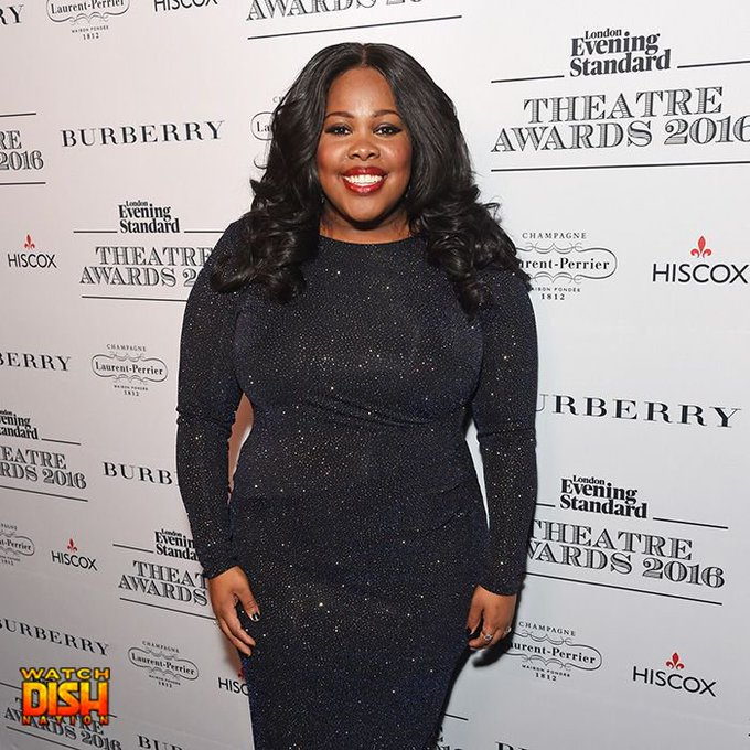 Happy 31st birthday to former Glee star Amber Riley
