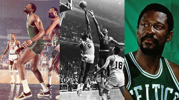 Happy Birthday Bill Russell. 11 NBA Championships!