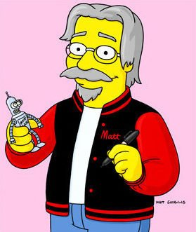 Happy Birthday to the creator of Life in Hell, and Futurama... Matt Groening turns 63 today.