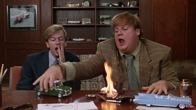 Chris Farley would have turned 53 years old today. Happy Birthday to the G.O.A.T.