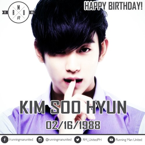 Happy Birthday Kim Soo Hyun!