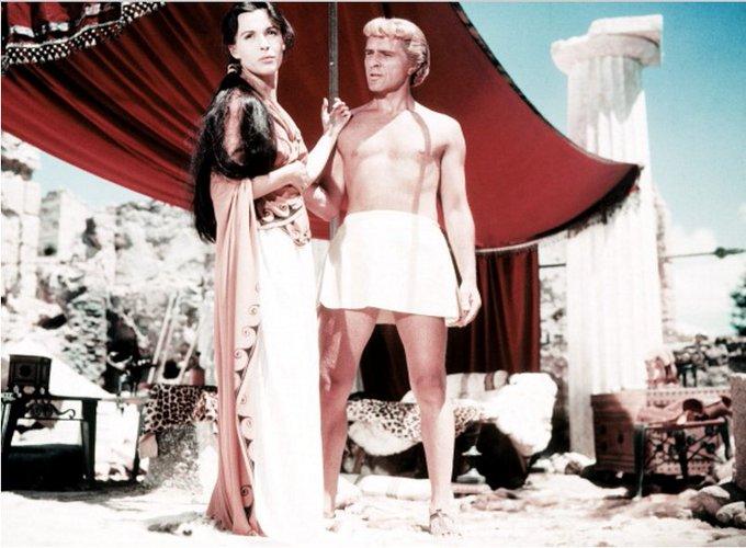 Happy birthday Claire Bloom with Richard Burton in Robert Rossen\s Alexander the Great, 1956