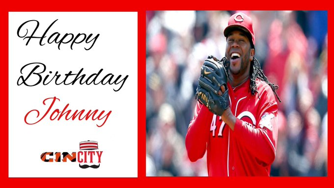 Happy 31st birthday to former Red Johnny Cueto!