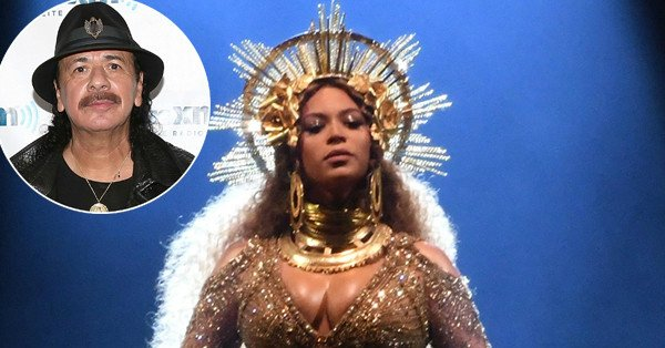 """Carlos Santana is clarifying those remarks about Beyonce not being a """"singer"""":"""