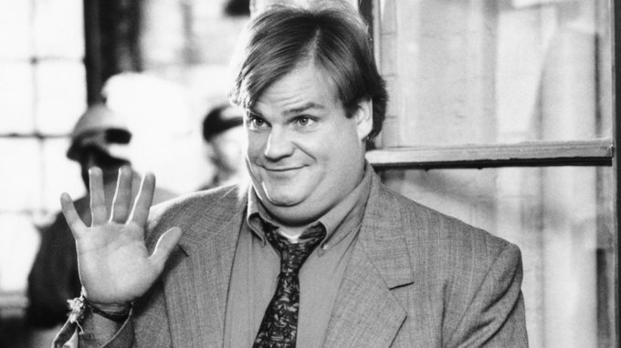 Chris Farley would\ve been 53 today. Happy Birthday to a comedy legend!