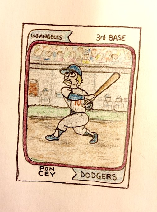 Happy birthday, Ron Cey!