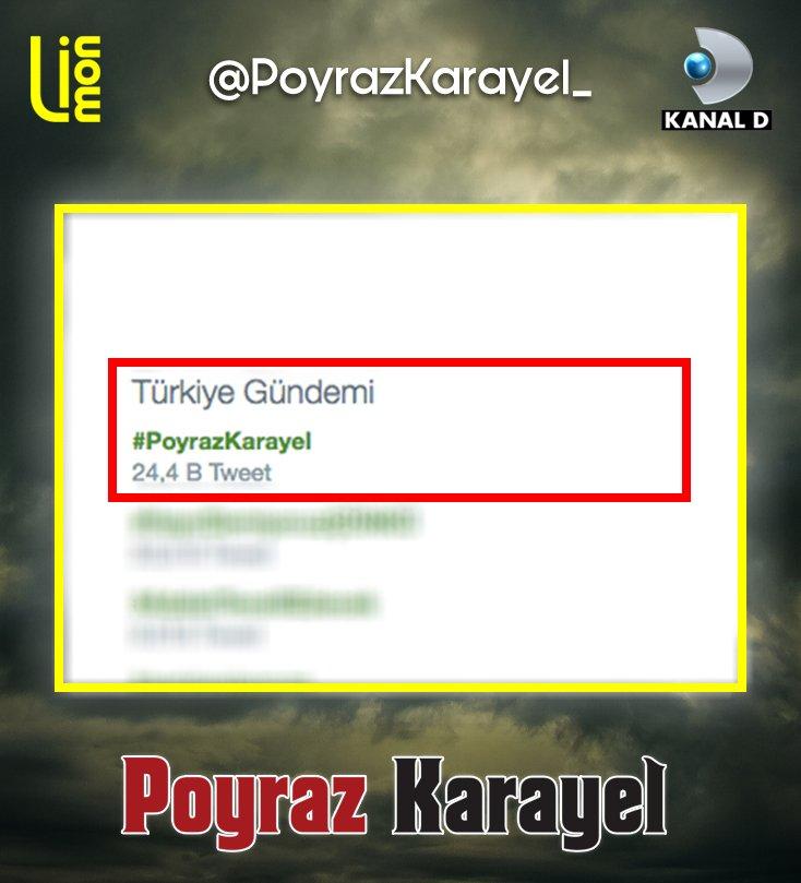 #PoyrazKarayel: Poyraz Karayel