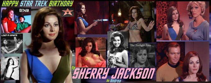 2-15 Happy birthday to Sherry Jackson.