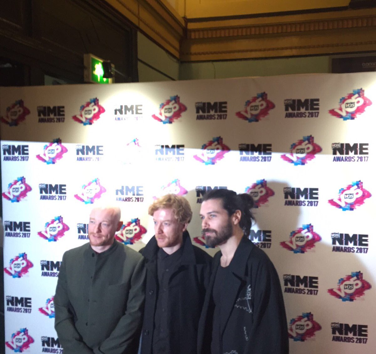 Welcome to the #VO5NMEAwards @BiffyClyro!