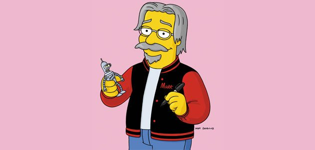 Happy birthday, Matt Groening!