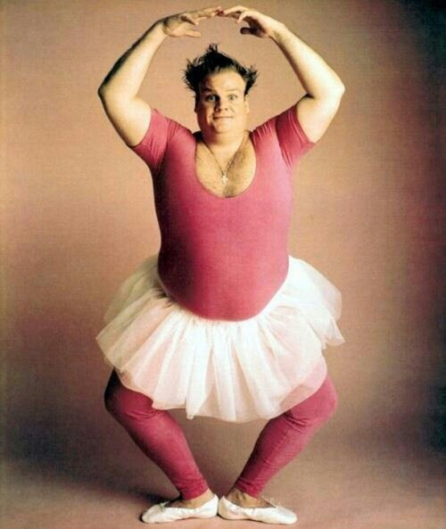 Happy Birthday to the best ballerina of all times, Chris Farley