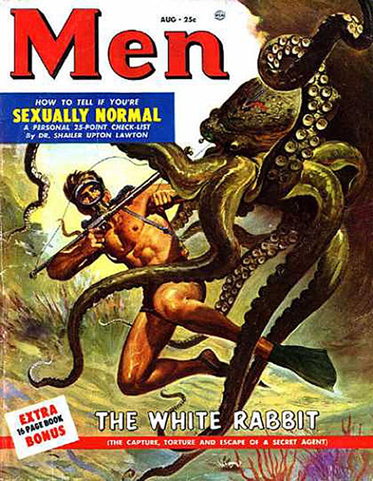 RT @TikiAmbassador: Great pulp magazine cover art. https://t.co/bdoTCnOHOF