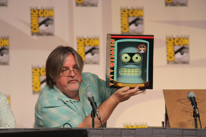 Wishing a happy birthday to Matt Groening