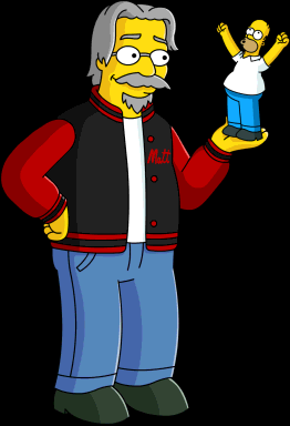Happy Birthday to and creator Matt Groening!