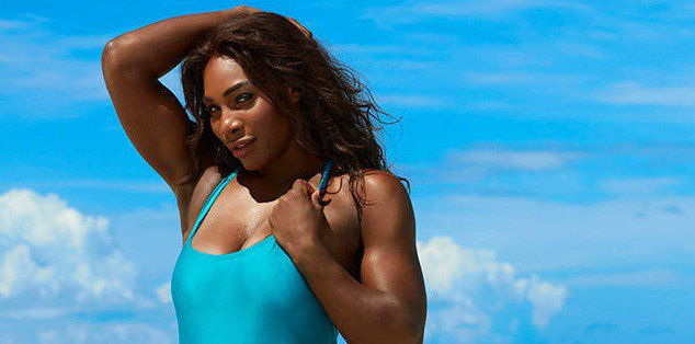 Serena Williams dares to bare, and it will surely cause a racket.
