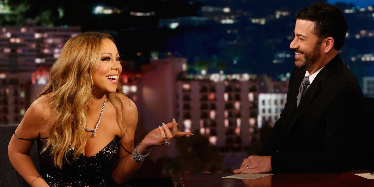 Mariah Carey makes her live performance comeback on Jimmy Kimmel after disastrous NYE gig