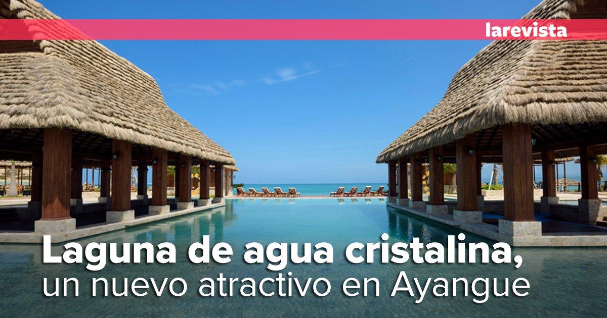 Urbanizaci n privada en ayangue inaugur laguna for Como hacer una laguna artificial