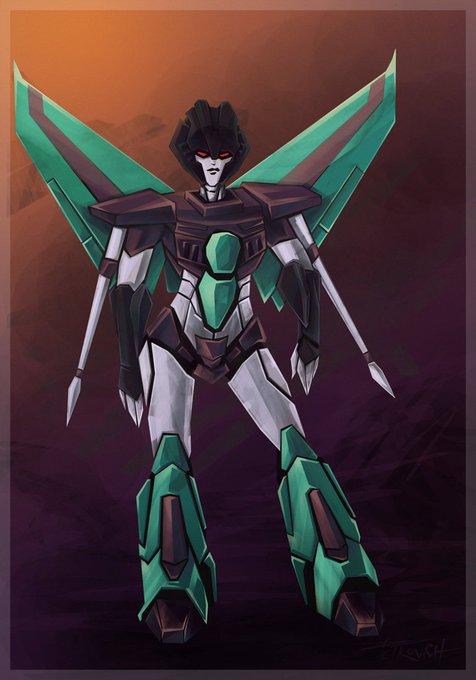 Slipstream (Transformers Animated)  Happy Birthday Tara Strong!!!