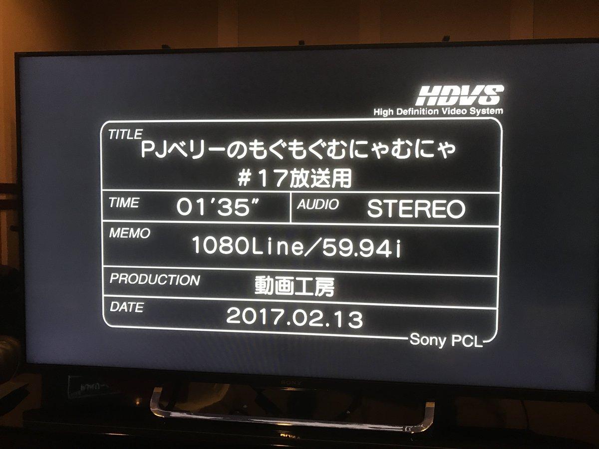 【本日放送】アニメ「PJベリーのもぐもぐむにゃむにゃ」第17話が今夜のフジテレビ『#ハイ_ポール』内で放送されます!今週