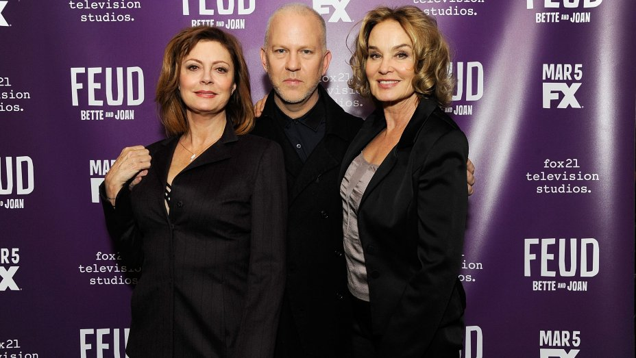 'Feud's' Susan Sarandon, Jessica Lange Reveal How They Channeled Bette Davis, Joan Crawford